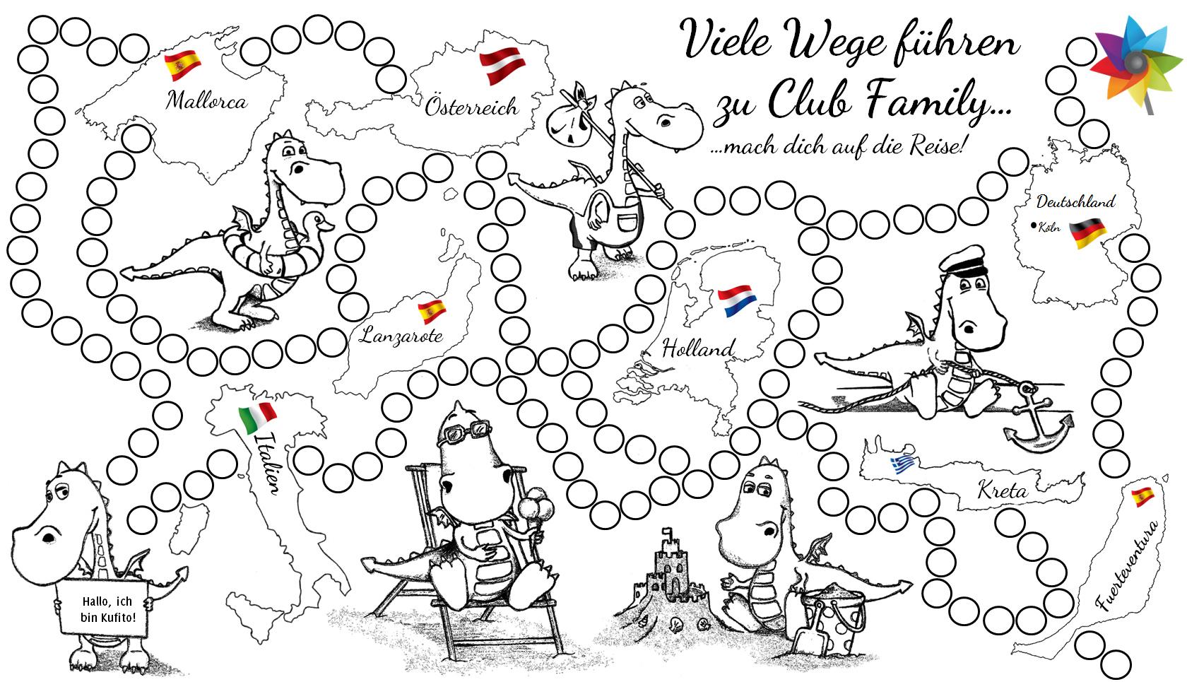 Ausmalbild Für Kinder Malvorlage Club Family